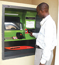 Going smart in Kigali:Bank of Kigali ATM gives option of currency